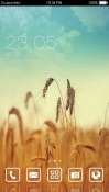 Golden Farm CLauncher Android Mobile Phone Theme