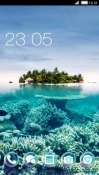 Island CLauncher Samsung Galaxy A8+ (2018) Theme