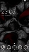 Black Silk CLauncher Xiaomi Mi A2 (Mi 6X) Theme