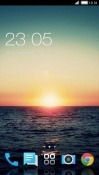 Sunset CLauncher HTC U12 Life Theme