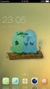 Cute Platypus CLauncher Samsung Galaxy Tab A 10.5 Theme