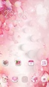 Download Free Pink Flowers CLauncher Mobile Phone Themes