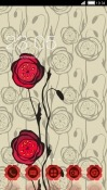 Download Free Red Flowers CLauncher Mobile Phone Themes