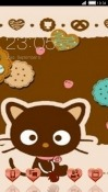 Cute Cat CLauncher Asus Zenfone 3 Ultra ZU680KL Theme