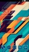 Abstract CLauncher Samsung Galaxy A8s Theme