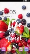 Fruity CLauncher Samsung Galaxy Tab A 10.5 Theme