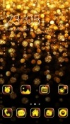 Gold CLauncher Android Mobile Phone Theme