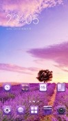 Purple Nature CLauncher LG G Pad X 8.0 Theme