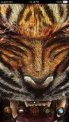 Angry Tiger CLauncher Realme 2 Theme