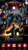 Avengers CLauncher Android Mobile Phone Theme