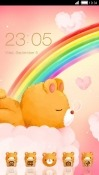 Sleepy Bear CLauncher Android Mobile Phone Theme