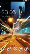 Neon Light Street CLauncher Asus Zenfone 4 Pro ZS551KL Theme