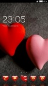 Red Heart CLauncher Asus Zenfone 4 Pro ZS551KL Theme
