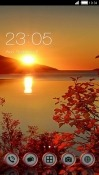 Download Free Sunset CLauncher Mobile Phone Themes