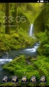 Waterfall CLauncher Lava Z25 Theme
