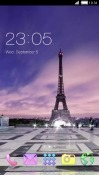 Eiffel Tower CLauncher LG Harmony Theme