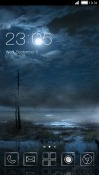 Night CLauncher HTC Desire 500 Theme