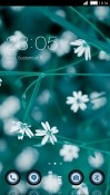 Flowers CLauncher LG Stylo 2 Theme
