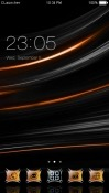 Dark CLauncher Prestigio MultiPhone 5400 Duo Theme