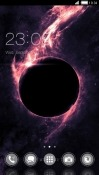 Black Hole CLauncher RED Hydrogen One Theme