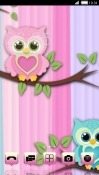 Cute Owl CLauncher Samsung Galaxy Tab A 10.5 Theme