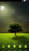Tree CLauncher RED Hydrogen One Theme