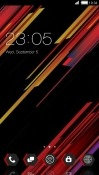 Black CLauncher RED Hydrogen One Theme