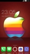 Apple CLauncher RED Hydrogen One Theme