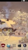 Winter CLauncher RED Hydrogen One Theme
