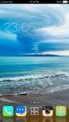 Beach CLauncher Realme 2 Theme