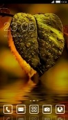 Green Leaf CLauncher RED Hydrogen One Theme