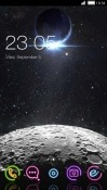 Moon CLauncher RED Hydrogen One Theme