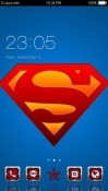 Superman CLauncher Samsung Galaxy Tab S4 10.5 Theme