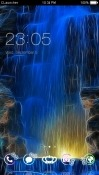 Waterfall CLauncher Sony Xperia 10 Theme