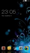 Abstract CLauncher LG X screen Theme