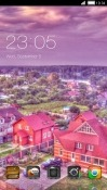 Village CLauncher LG X screen Theme
