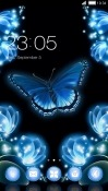 Neon Butterfly CLauncher Meizu M9 Note Theme