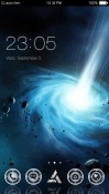 Galaxy CLauncher Android Mobile Phone Theme