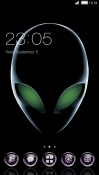 Alien CLauncher Samsung Galaxy A8+ (2018) Theme