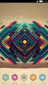 Abstract Design CLauncher Android Mobile Phone Theme