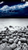 Beach CLauncher Alcatel 3 Theme