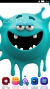 Crazy Monster CLauncher Alcatel 3V Theme