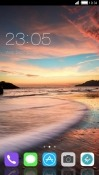 Beach CLauncher Motorola Moto Z4 Theme