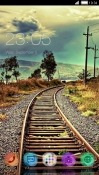Railway Track CLauncher Sony Xperia 5 Theme
