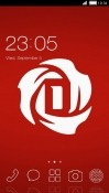 Rose CLauncher QMobile QSmart Hot Pro 2 Theme