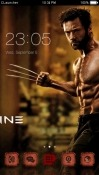 Wolverine CLauncher Android Mobile Phone Theme