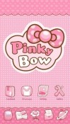 Pinky Bow Go Launcher Android Mobile Phone Theme