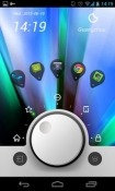 Knobs Toucher Go Launcher Nokia 7.2 Theme