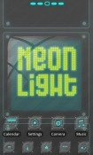 Neonlight Go Launcher Realme XT Theme