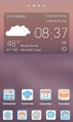 Soft Go Launcher Archos Oxygen 68XL Theme